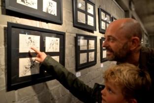 Unieke expo van cartoonist en auteur George van Raemdonck in Theater Vooruit