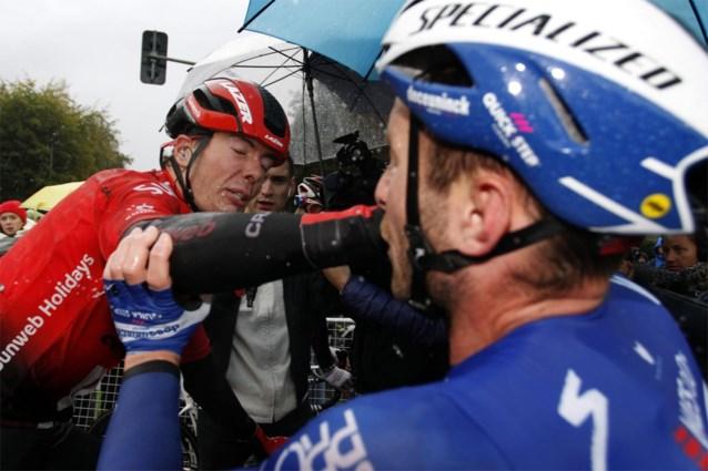 """Florian Sénéchal (Deceuninck-Quick Step) na vechtpartij: """"Vele renners feliciteerden mij omdat ik hem een mep heb verkocht"""""""