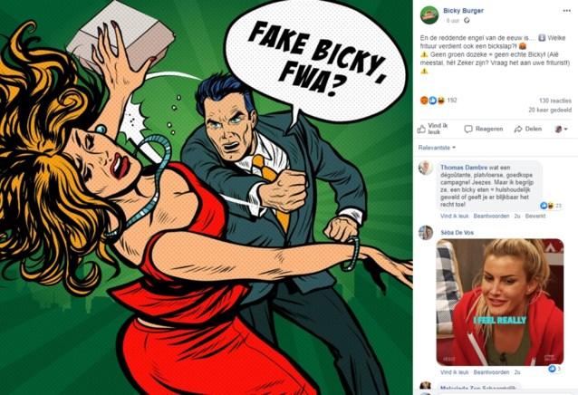 """Bicky Burger krijgt kritiek door """"degoutante"""" en """"vrouwonvriendelijke"""" reclamecampagne: """"Dit was niet onze bedoeling"""""""
