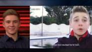 Remco Evenepoel bij Gert Late Night: over het moment dat hij wielrenner werd, jeugdbeelden bij PSV en een massage van James