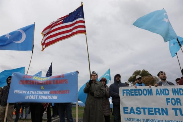 Amerikaanse regering legt 28 Chinese bedrijven sancties op wegens schending mensenrechten