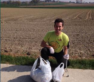 GPS-sporters helpen in strijd tegen zwerfvuil