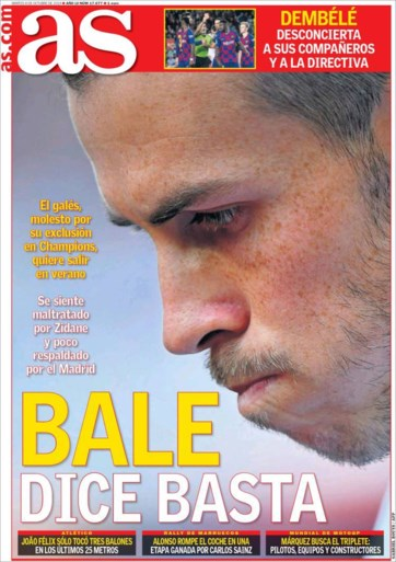 """Was de wedstrijd van Real Madrid tegen Club Brugge de laatste druppel? """"Gareth Bale heeft er genoeg van"""""""
