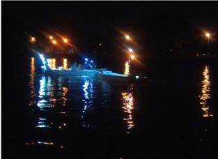 Illegale vissers in buurt van paaiplaats gefilmd