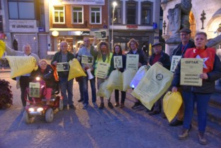 PVDA voert actie tegen diftarsysteem en voor gele zak