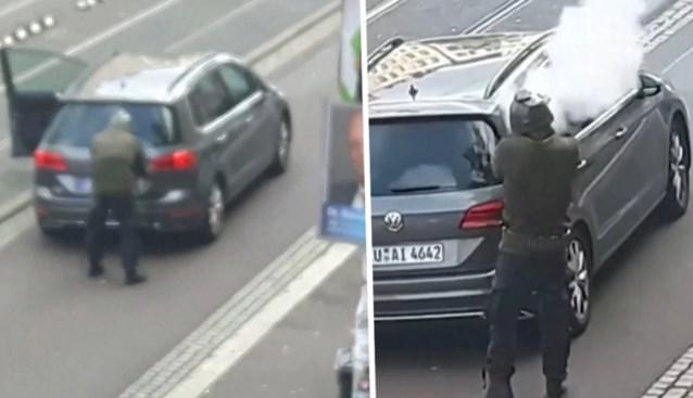 """Paniek na schietpartij in Duitsland: """"Het is hier echt chaos. We durven zelfs niet uit het raam te kijken"""""""