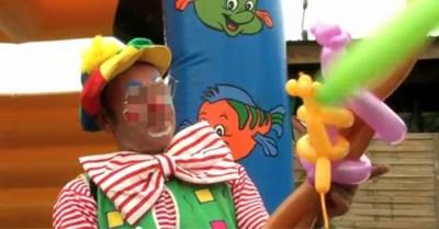 """Peerse clown randt meisjes aan met """"goocheltrucs"""": vijf jaar cel"""