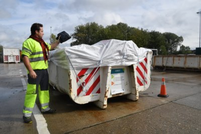 Nog alleen goed verpakt asbest welkom op containerparken