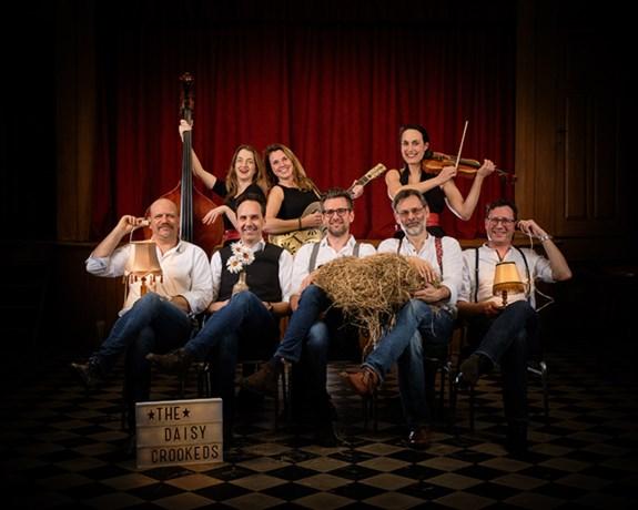 Lokale band The Daisy Crookeds voor het eerst in 't Aambeeld