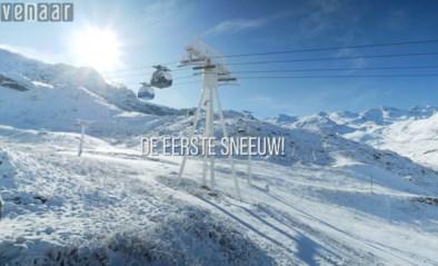 VIDEO. Eerste sneeuw in Val Thorens!