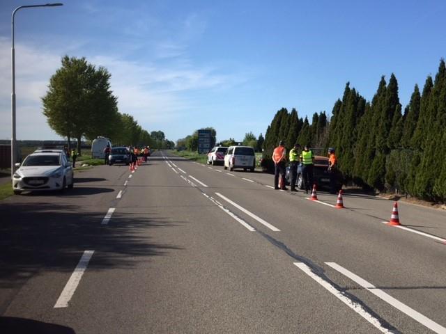 De flitsmarathon was aangekondigd maar in deze zone reed toch zestien procent van de gecontroleerde bestuurders te vlug