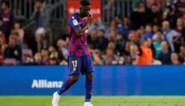 Ousmane Dembélé mist met Barcelona Clasico na beledigen van scheidsrechter