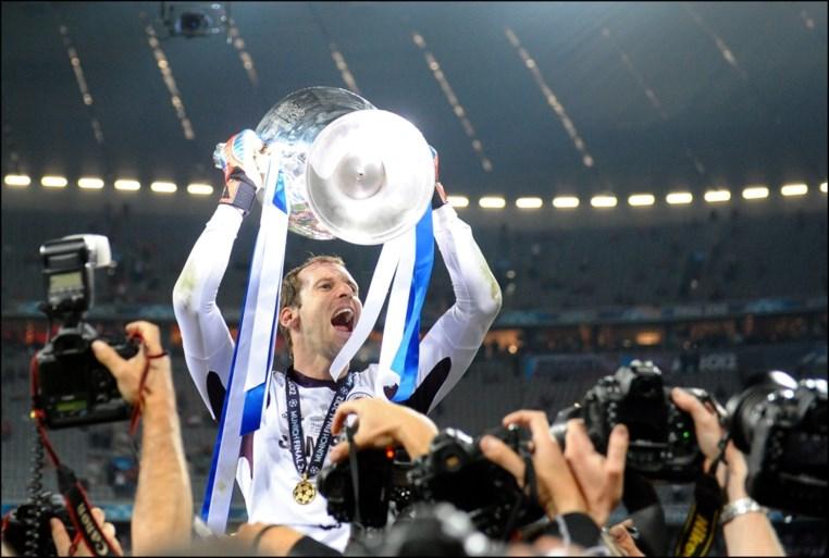 Petr Cech wordt opnieuw doelman… op het ijs