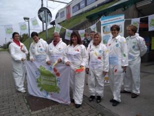 Schepen Scheirlinckx voert actie voor werelddag Geestelijke Gezondheidszorg