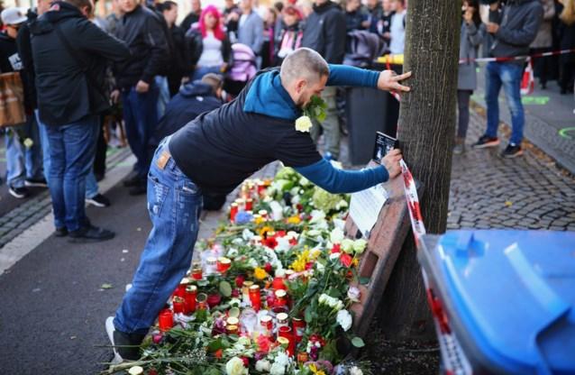 Dader van aanslag in Halle wilde bloedbad aanrichten en mensen wereldwijd inspireren: slachtoffers waren man van 20 en vrouw van 40