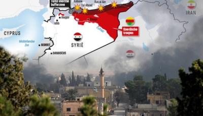 Oorlog van duizend-en-één spelers: wie is wie in de strijd tussen Turkije en de Syrische Koerden