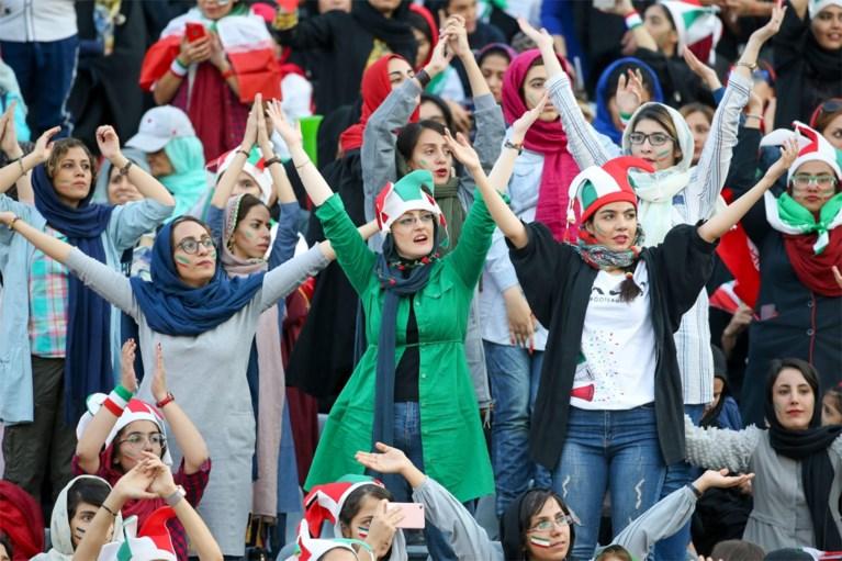 Iraanse vrouwen mogen voor het eerst in 40 jaar naar het voetbal… en ploeg van Marc Wilmots haalt meteen uit met monsterzege