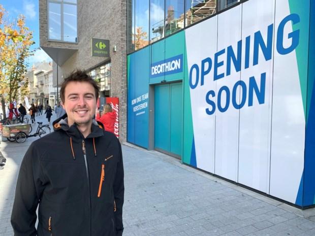 Opening stadswinkel van sportketen nog even uitgesteld