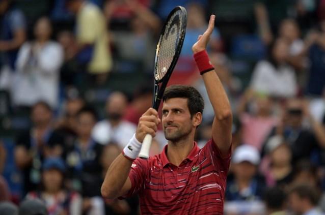 Novak Djokovic blijft op koers voor vijfde titel in Shanghai, kan David Goffin stunten tegen Roger Federer?