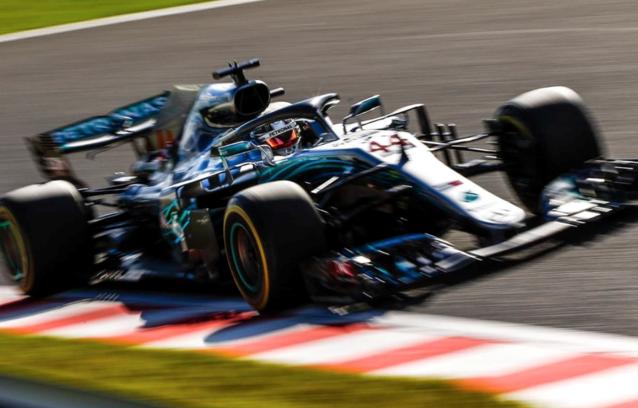 Lewis Hamilton kijkt uit naar een geweldige race in Japan