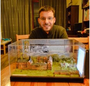 Verdwenen kasteel is 300 kilometer verderop te bewonderen in miniatuurversie, met dank aan Friese broers