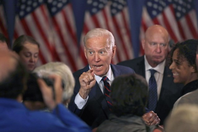 Ex-vicepresident Joe Biden steunt afzetting Donald Trump