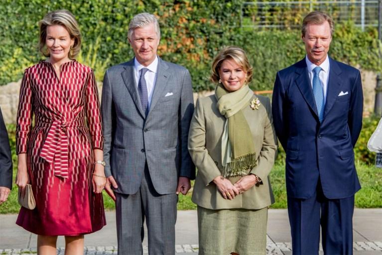 Groothertogin is buiten strijd en kan Filip en Mathilde niet ontvangen tijdens staatsbezoek