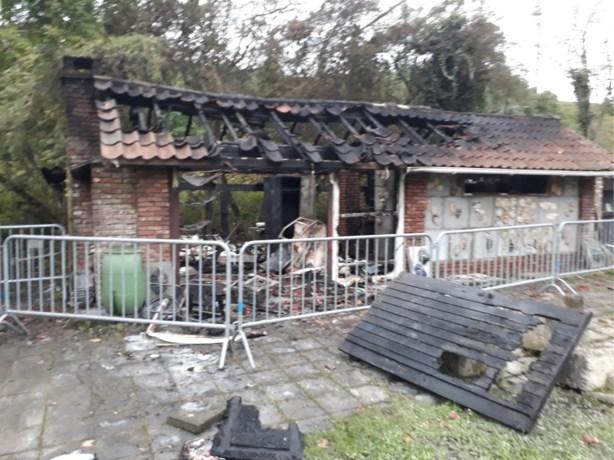 Brand treft het kunstatelier Het Ovenveld