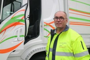 FOTO. Marc (58) leverde als vrachtwagenchauffeur unieke prestatie: dat is niet alleen goed voor een klinkende titel, het cadeau is minstens even origineel