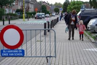 Proefopstelling schoolstraat op Eenbeekeinde