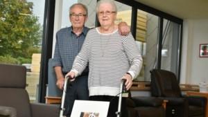 """Monique (85) en Constant (87) hebben een LAT-relatie, zij het op korte afstand: """"Ik kijk elke avond of hij de rolluiken niet vergeten is"""""""
