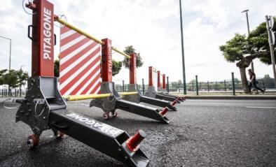 Mobiele barrières voor evenementen