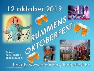 Rummens Oktoberfest in Sporthal De Warande