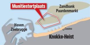 Topoverleg over imposant bommenkerkhof in Noordzee