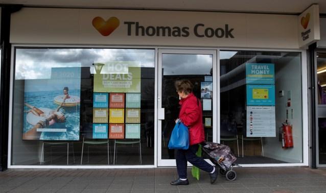 Spaanse reisorganisatie neemt 62 winkels Thomas Cook over, doorstart voor bijna 200 personeelsleden