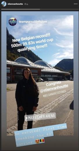 Heeft België er een schaatshoop bij? Stien Vanhoutte (23) schittert in Inzell