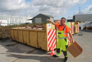 Aalters recyclagepark wordt fors uitgebreid