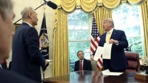 VS en China zetten eerste stap naar einde van handelsoorlog