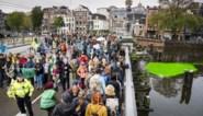Ongeveer 130 klimaatactivisten opgepakt in Amsterdam