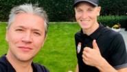 """Tim Merlier heeft twee boezemvrienden in de koers: """"Van Aert noemt me de Raket van Wortegem"""""""