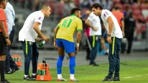 Neymar valt in oefeninterland uit met dijblessure: Braziliaan mogelijk out voor wedstrijd tegen Club Brugge