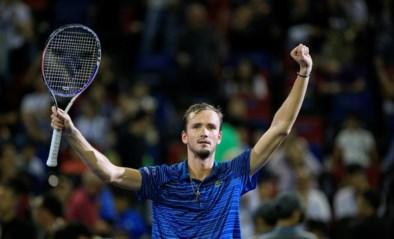 Daniil Medvedev wint in Shanghai zijn tweede Masters 1.000 toernooi na een demonstratie