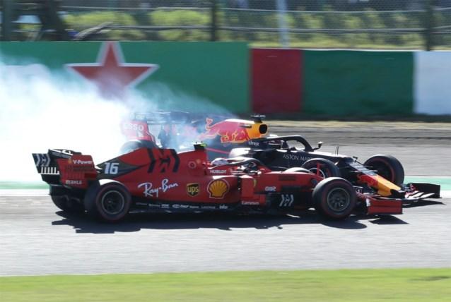 GP Formule 1 van Japan krijgt nog staartje voor Charles Leclerc na deze botsing met een boze Max Verstappen