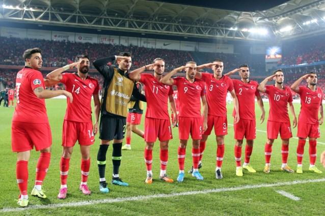 UEFA onderzoekt militair saluut Turks elftal