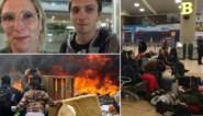 """Vlaams koppel zit al dag vast op luchthaven Quito en heeft pas dinsdag een terugvlucht: """"We krijgen zelfs geen water"""""""