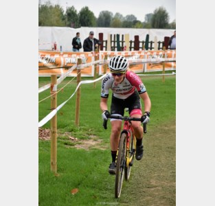 Alicia Franck in Poldercross: