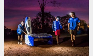 Belgisch Solar Team rukt op naar derde plaats op het WK voor zonnewagens