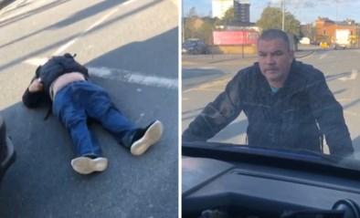 """Voetganger 'neemt wraak' op bestuurder die zebrapad verspert door pech: """"Ik heb mijn lesje geleerd, idioot"""""""