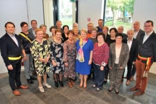 70-jarigen van Olsene op het gemeentehuis