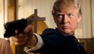 """Video waarin valse Trump media neerschiet afgespeeld op conferentie Trump-aanhangers: """"Verachtelijk en afschuwelijk"""""""